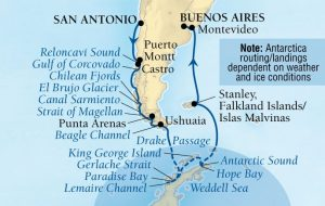 Seabourn Antarctica BalconyTravel Itinerary Ma