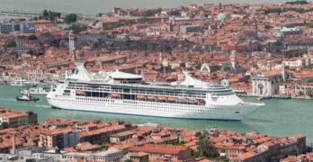 Harmony of the Seas in Venice