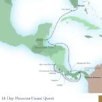 Seabourn Panama Canal Itinerary Map